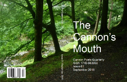 The Cannon's Mouth Cover Issue 61 September 2016