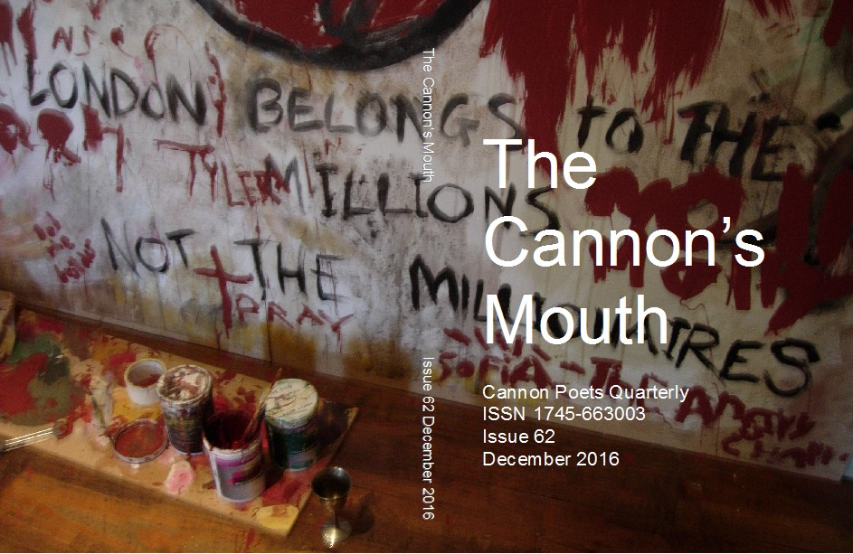 The Cannon's Mouth issue 62 December 2016